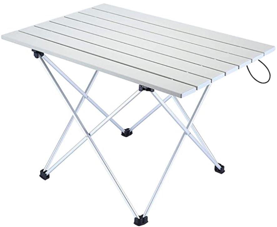 mesas con piernas plegables