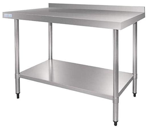 mesas con acero