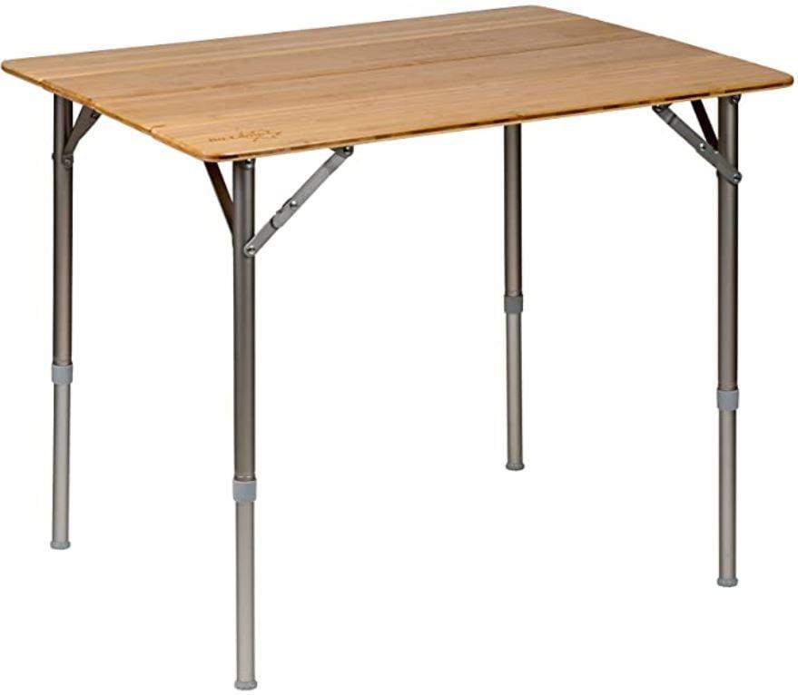 mesas con bambú
