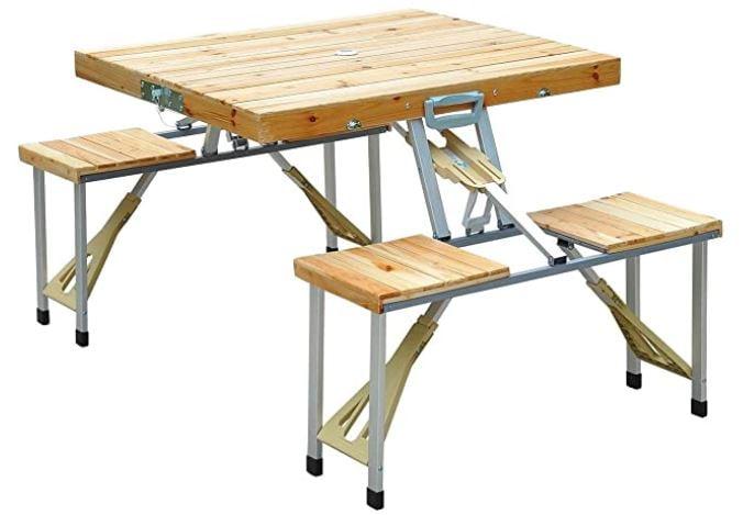 mesas para camping