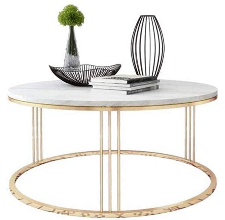 mesas con mármol