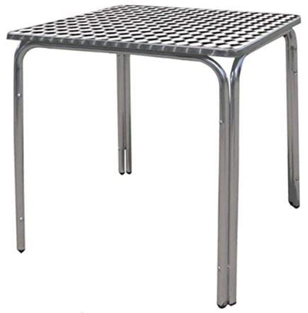 mesas con metal