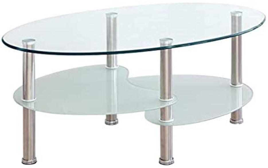 mesas forma ovalada